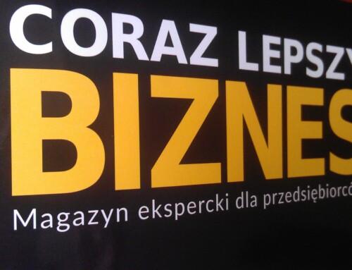 Coraz Lepszy Biznes -Wywiad zmecenas Małgorzatą Koczan wMagazynie Eksperckim dla Przedsiębiorców